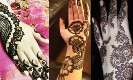 New Arabic Mehndi Designs 2016-2017 for Hands and Feet