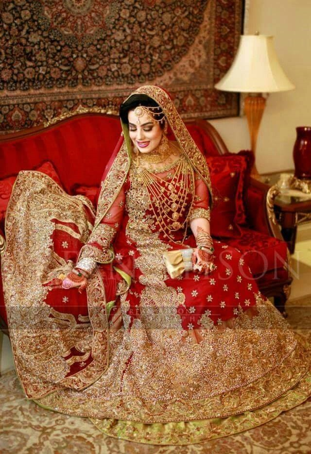 Royal Red Bridal Lehenga