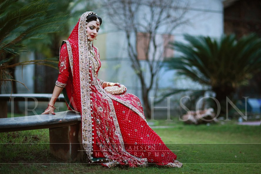 Fresh Red Bridal Lehenga