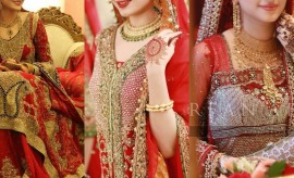 Top 20 Most Beautiful Bridal Wear Red Lehenga Designs 2016 for Wedding Brides
