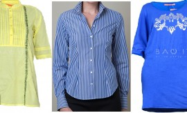 Best Branded and Stylish Women T-Shirts and Dress Shirts by Paul Stuart and Crossroads