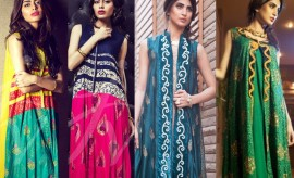 Javeria Zeeshan New Casual Wear and Party Wear Dresses in BRANDS Just Pret