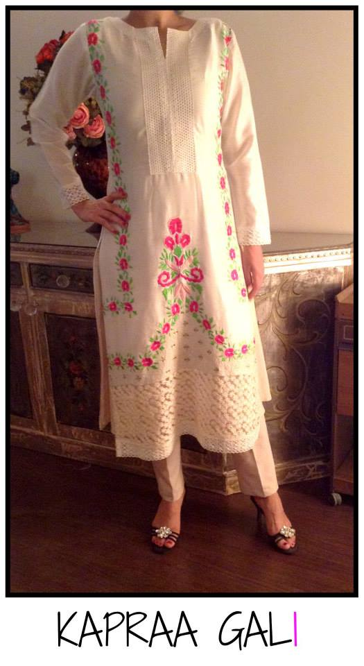 Kapraa Gali New Stylish Eid Dresses Collection By Anum Jung