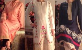 Kapraa Gali New Stylish Eid Dresses Collection by Anum Jung