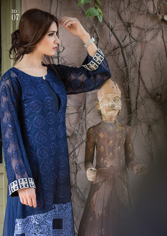 Classic Embroidered Eid Dresses for Women by Maria B ...