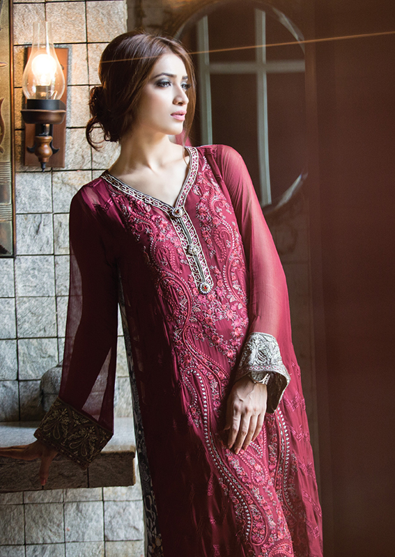 Classic Embroidered Eid Dresses For Women By Maria B