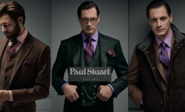 Complete Formal Wear Classic Suits for Men by Paul Stuart Winter Collection