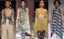 "Sania Maskatiya ""Sakura"" Collection at LAKME Fashion Week"