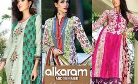 AlKaram Mid-Summer Rangoli Prints Collection 2015-2016 for Eid