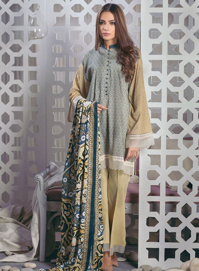 Resham Linen Winter Outfit for women