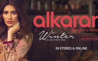 Alkaram latest winter dresses 2016-2017