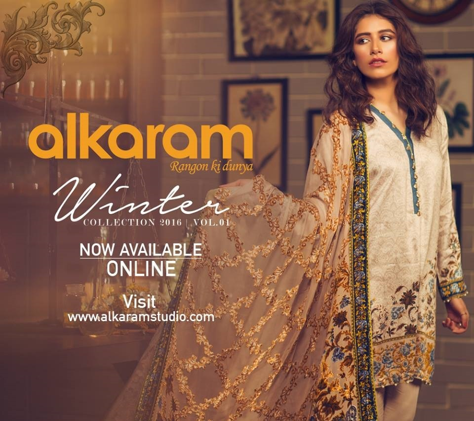 Alkaram Winter Collection