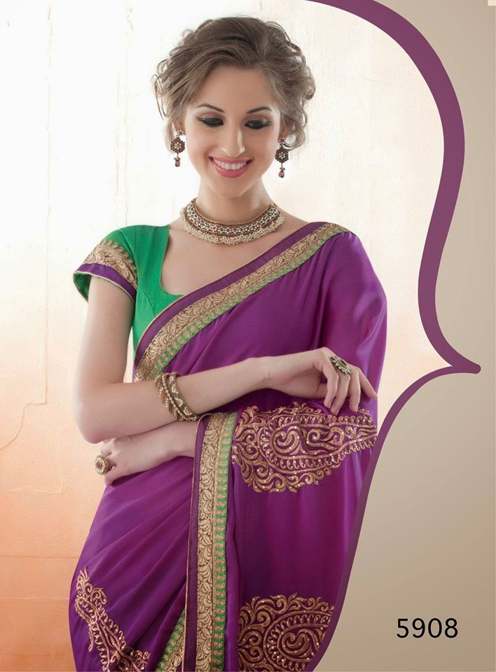 Avalon Beautiful Embroidered Diwali Dhamaka Saree Collection