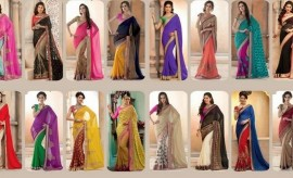 Avalon Beautiful Embroidered Diwali Dhamaka Saree Collection