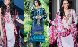 Pretty Egyptian Cotton Suits by Shariq Textiles New Winter Collection