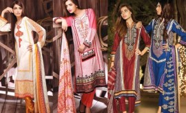 House of ittehad Khaddar and German Linen Winter Collection 2015-2016