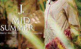 J. Junaid Jamshed New Mid-Summer Autumn Collection