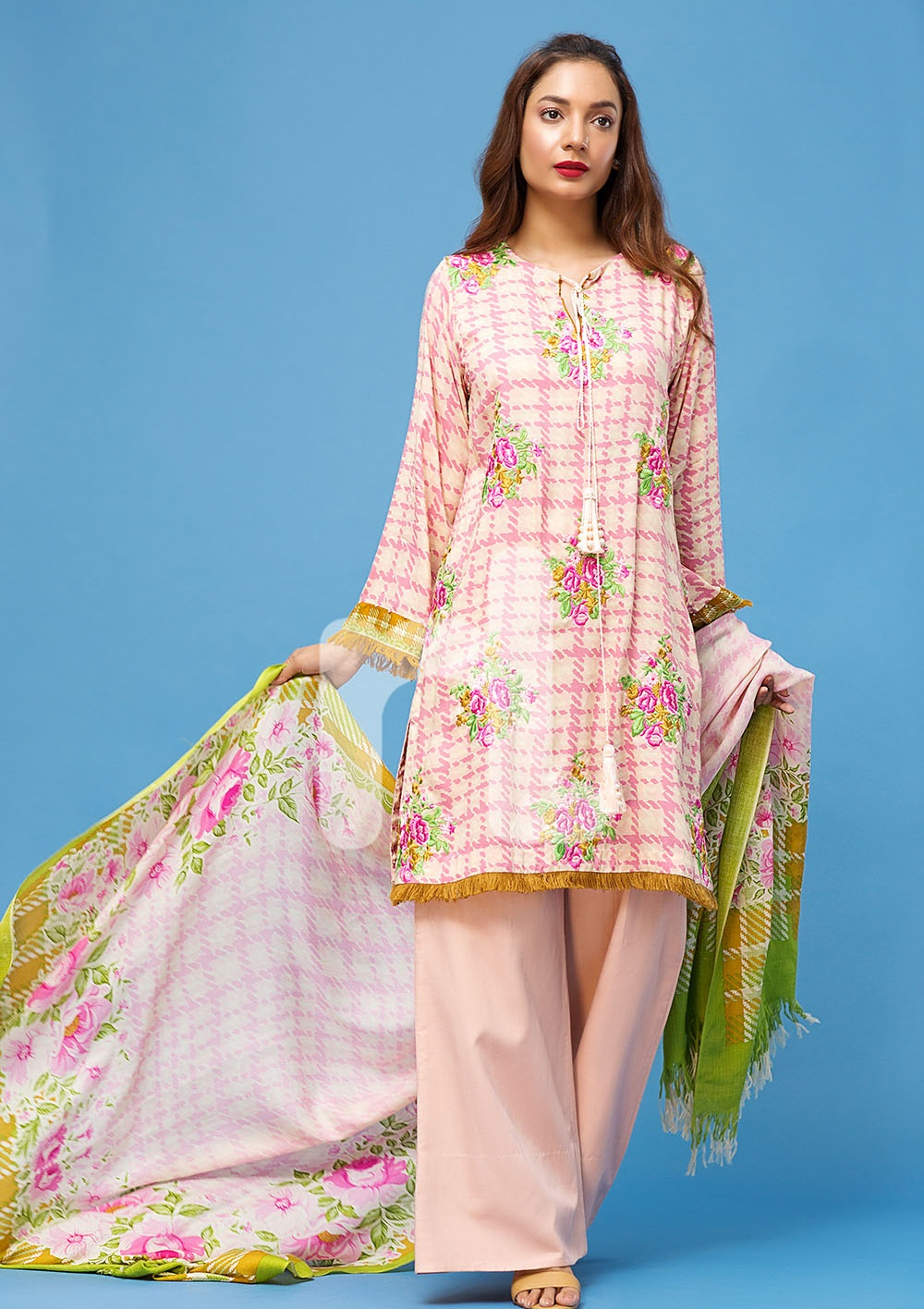 nishat linen winter embroidered suit 2016