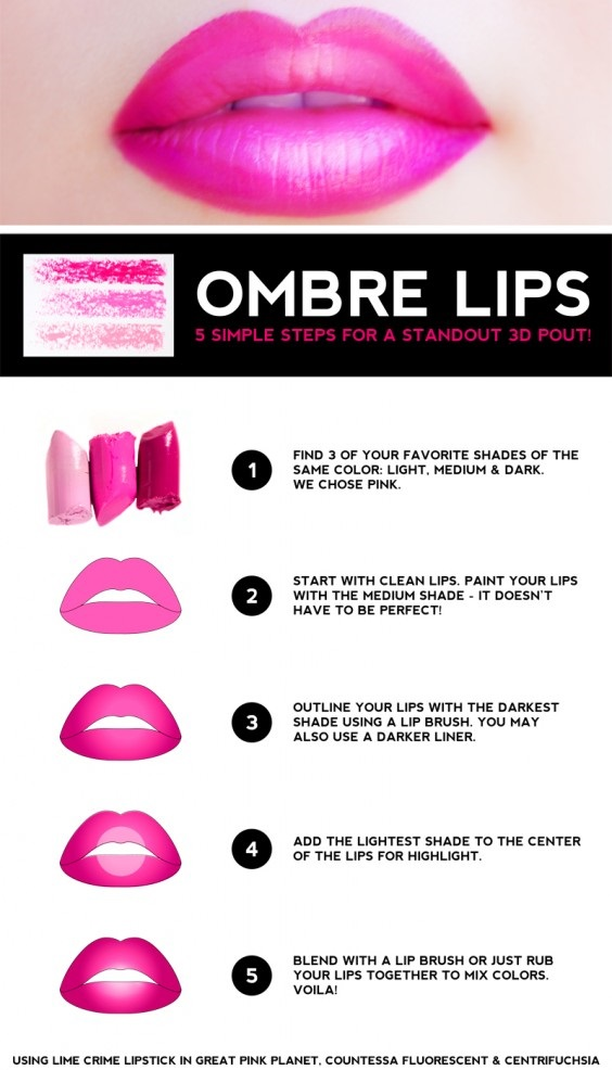 Ombre-lip-tutorial