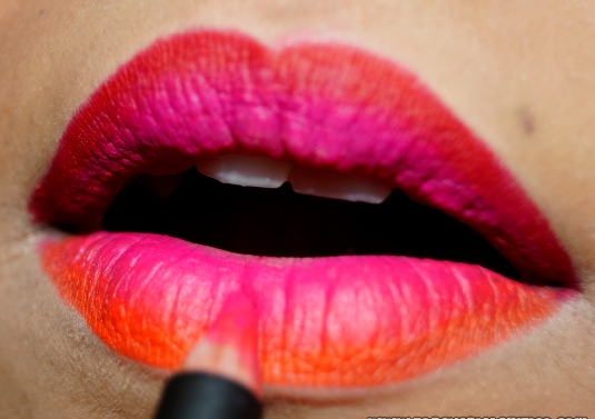 How to make Ombre Lips