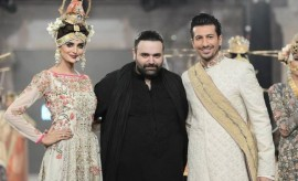 Fahad Hussayn New Formal Wear Collection at PFDC L'Oreal Paris Bridal Week