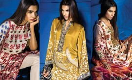 Sana Safinaz New Silk Collection for Winter 2015-2016 with Prices