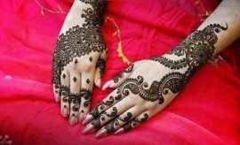 New Simple and Easy Mehndi Designs 2017-2018 for Eid Al-Azha
