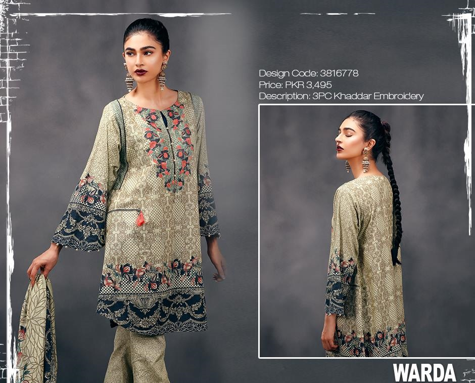 Warda Winter Collection