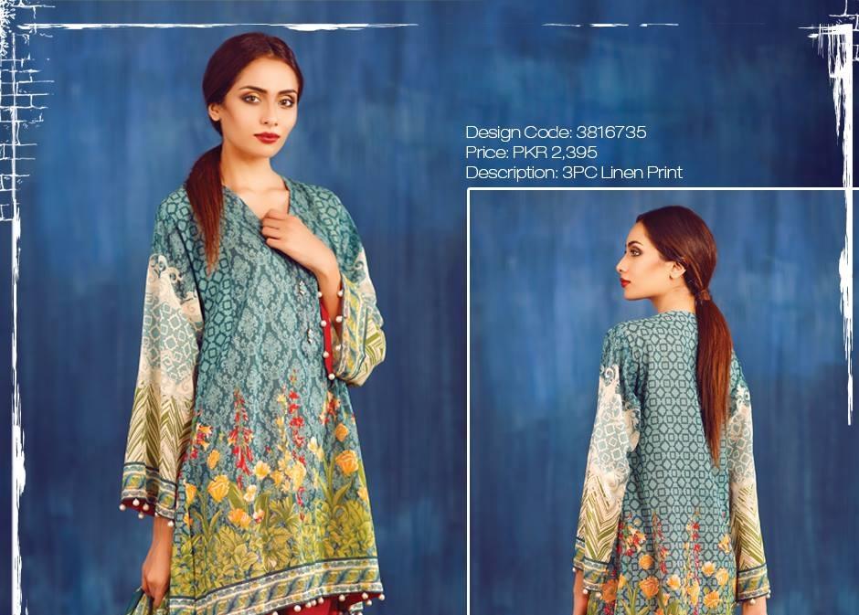 warda linen suits 2016