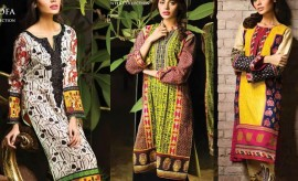 Asim Jofa Fall Winter Embroidered Dresses Collection 2015-2016