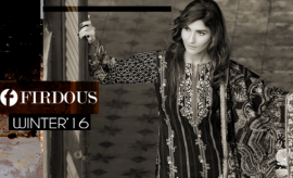 Firdous Fashion Chic Winter Dresses Collection 2017-2018 with Prices