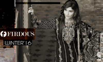 Firdous Fashion Winter Dresses 2017