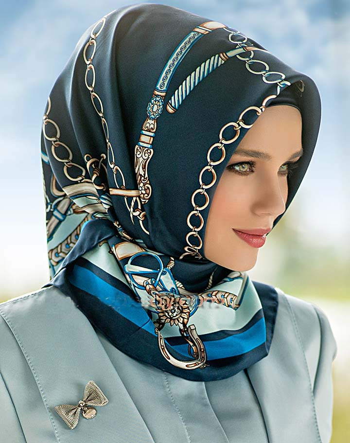 Trendy Arabic Hijab Styles With Tutorials Step By Step