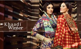 Khaadi Fall Winter Unstitched Dresses 2017-2018 Collection with Prices