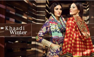 Khaadi Winter Dresses 2016 - 2017 designs