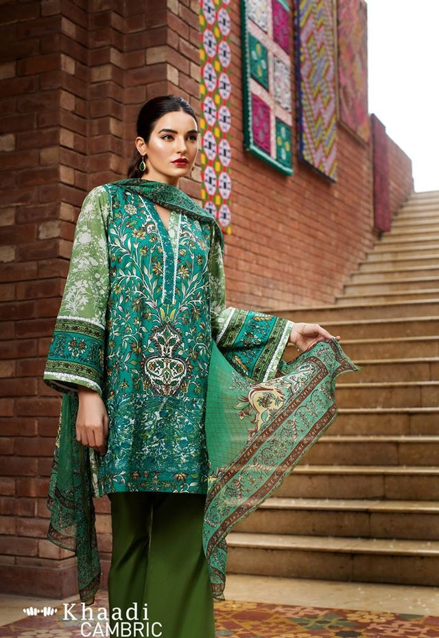khaadi cambric suits 2016