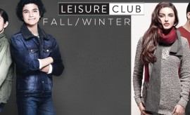 Leisure Club Fall Winter Collection 2015 for Men, Women and Kids