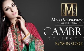 Mausummery Winter Cambric Collection 2015-2016 With Prices