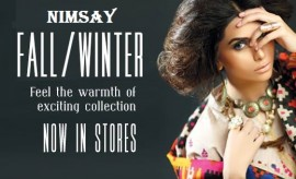 Nimsay Fall/Winter Stitched and Unstitched Collection Look-book