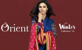 Orient Textiles Fall Winter Dresses Collection 2017 with Prices