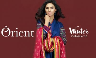 orient winter dresses 2016 designs