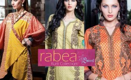 Rabea by Shariq Textiles New Exclusive Kurti / Tunics Collection