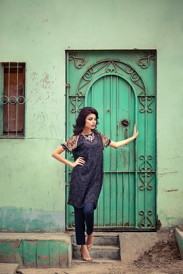 Sana Safinaz RTW Winter dresses