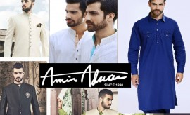 Amir Adnan Winter Kurtas, Shalwar Kameez and Sherwani Collection 2016-2017