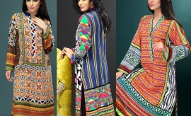 Cotton Ginny New Digital Printed Winter Dresses Collection