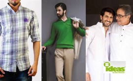 Ideas by Gul Ahmed Menswear Winter Shirts and Kurtas Collection