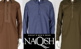 Naqsh by Nishat Linen Winter Kurtas and Shalwar Kameez Designs for Men