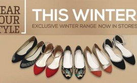 Stylo Shoes New Designs of Winter Footwear for Modish Girls