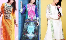 Zahra Ahmad New Winter Dresses Collection 2015 for Women