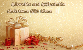 Adorable and Affordable Christmas Gift Ideas for Friends, Family and Spouse